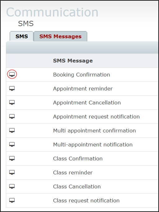 How to edit the default SMS message content